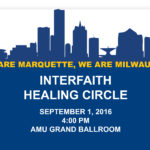 Interfaith Healing Circle to be held Sept. 1 at 4 p.m.