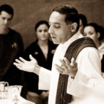Rev. Nicky Santos, S.J., assistant professor of marketing, highlighted in Midwest Jesuits