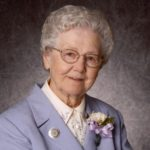 University mourns the death of Sister Rosalie Klein, dean emerita, College of Nursing
