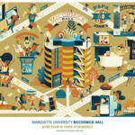 Limited edition McCormick Hall posters on sale
