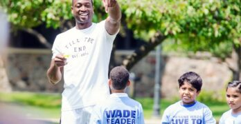 Dwyane Wade LIVE TO DREAM program celebrates five years virtually